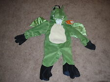 Infant Lizard Dinosaur Dragon with Wings Halloween Costume 3-D 0-9 Months