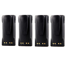 4X 2000mAh HNN9013 Battery for MOTOROLA HT1550 GP140 GP320 GP328 GP338 GP640
