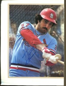 Keith Hernandez Signed Magazine Page Photo Autographed Cardinals 55300