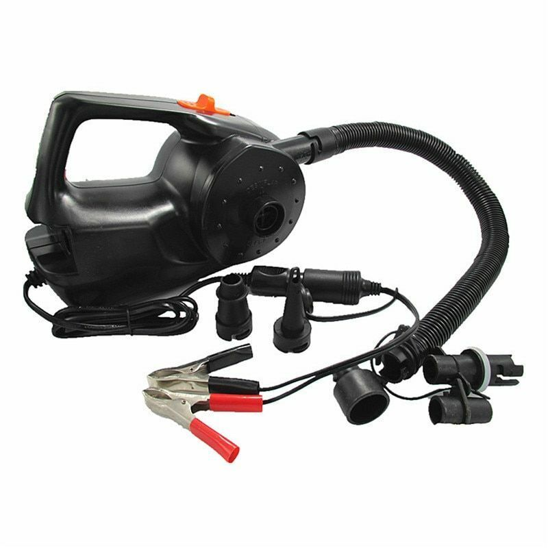 Car Electric Inflatable Tyre Air Pump 12V Rechargable For Air Cushions Ball Auto
