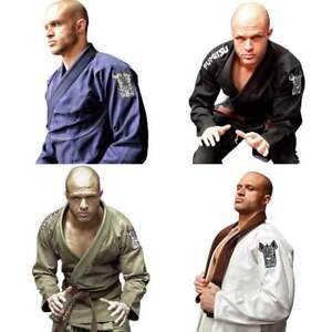Fumetsu-Rampage-BJJ-Gi-Adult-Kimono-Mens-Brazilian-JiuJitsu-Suit-A1-A2-A2L-A3-A4