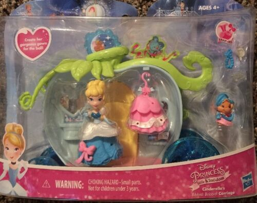Disney Princess Little Kingdom Cinderella's Bibbidi Bobbidi Carriage Playset