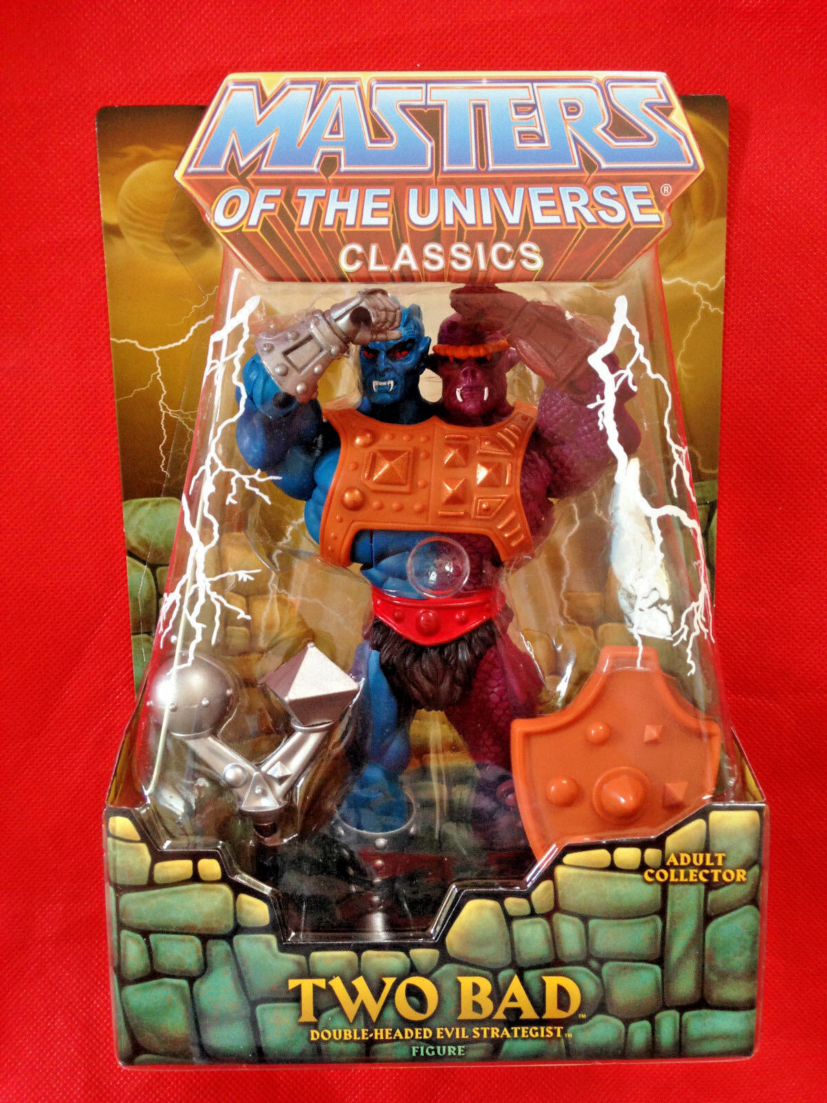 TWO BAD & HYDRON Masters of the Universe Classics Figures MOTU SEALED Mattel