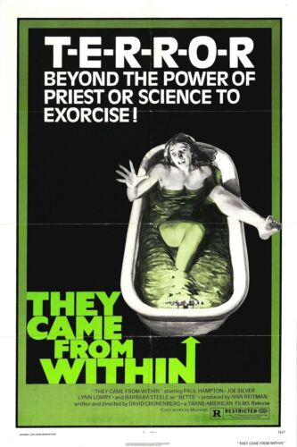SHIVERS Movie Poster 1975