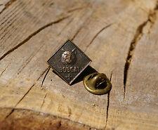 Boy Scouts Bobcat Lapel Pin Pinback Fleur de Lis Metal Square