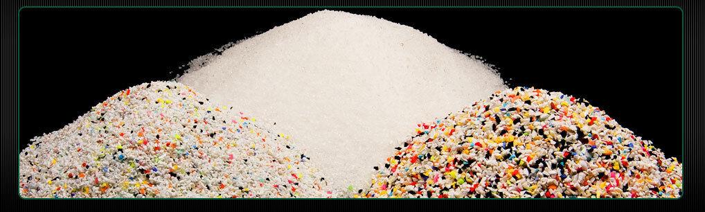 50lb Sandblasting Bead Basting, Plastic Media Blast, Type 5 Acrylic, Size Medium