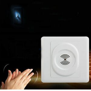 Sprachsteuerung-Korridor-Zeitverzoegerung-Akustikschalter-Sound-Lichtschalter
