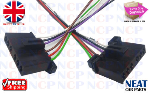 2X FORD TRANSIT MK6 2000-2006  REAR LIGHT BULB HOLDER WIRING LOOM CONNECTORS