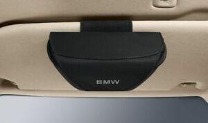 Brillenfach Sonnenbrille in SCHWARZ für BMW 5er E60 E61 6er E63 E64 7er E65 E66