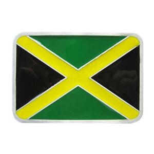 Jamaica-Flag-Guertelschnalle-Banner-Bob-Rasta-Reggae-Marley-Jamaika-Fahne-Flagge