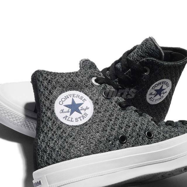 0d417a303f93a6 Converse Chuck Taylor All Star II Spacer Mesh Thunder Mens Casual Shoes  154020c 8.5 for sale online