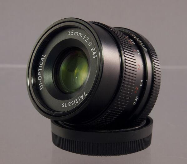 7 Artisans Dj-optical 2.0/35mm Objectif/lens Pour/for Fuji X Digital - 32270 Faire Sentir à La Facilité Et éNergique