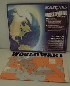 Details about Vintage Learning Games World War I Map Game. on map usa state map game, map of united states game warden, map of asia, map of usa states to learn,