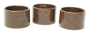 pl4656 Reasonable 3 X Vintage Bakelite Napkin Rings Free Shipping