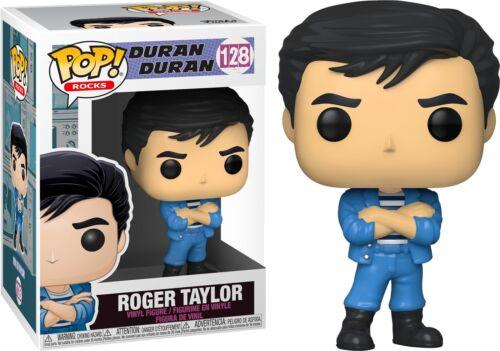 ROGER TAYLOR FUNKO POP VINYL FIGURE #128 POP ROCKS:DURAN DURAN