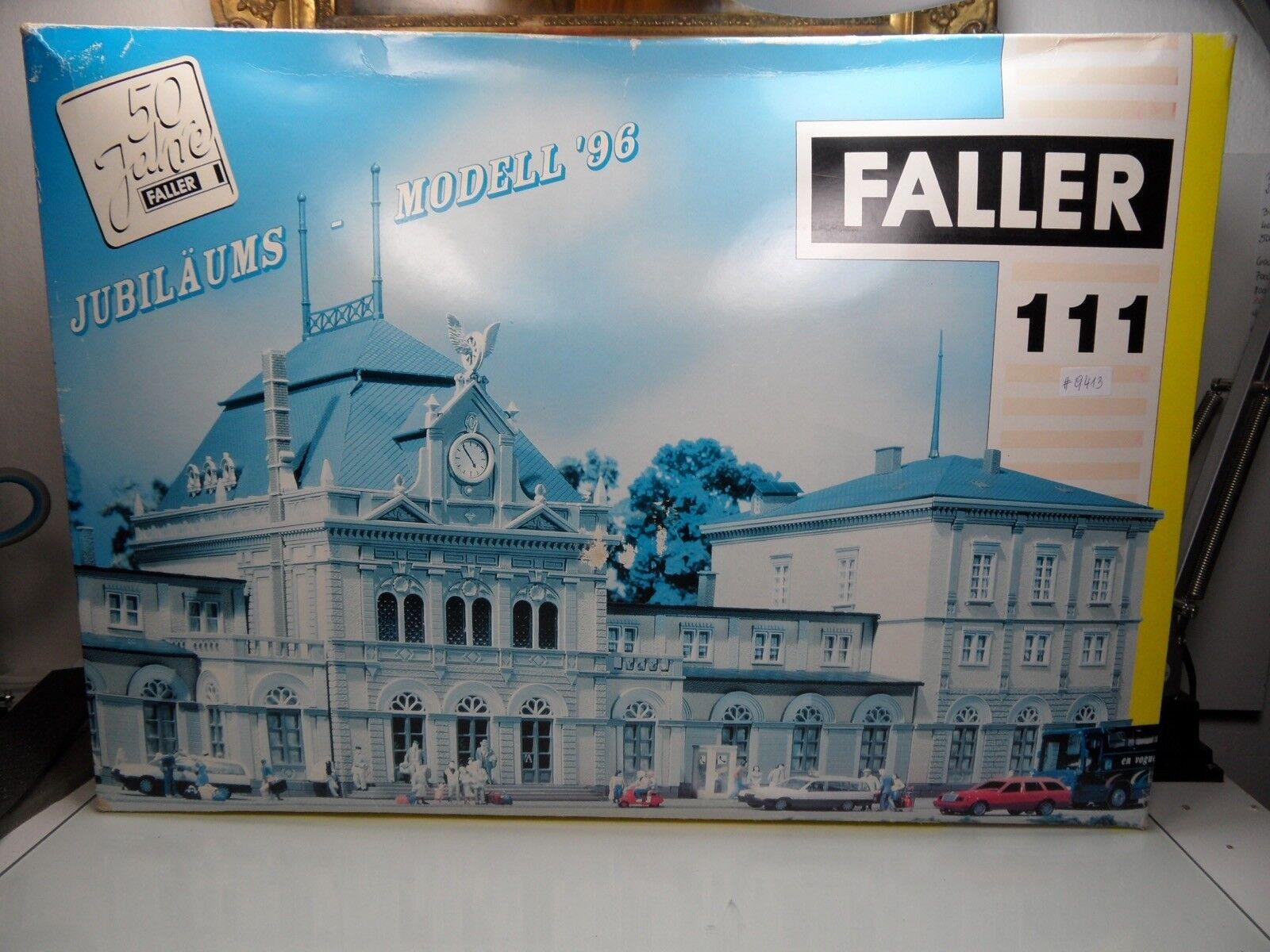 Faller 111 - H0 - Bahnhof - NEUSTADT - Weinstraße - TOP in OVP -  9413