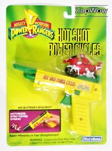 HOT-SHOT-POWER-CYCLES-1994-Red-Mighty-Morphin-Power-Rangers-Hornby-MOC-VTG-1990s