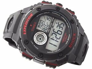 abfce3be4838 Image is loading Timex-Expedition-Vibe-Shock -Resistant-Chronograph-T49980-NOW-