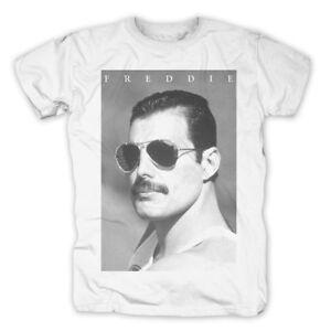Kleidung & Accessoires T-shirts Freddie Mercury Sunglasses T-shirt Zu Den Ersten äHnlichen Produkten ZäHlen WunderschöNen Queen