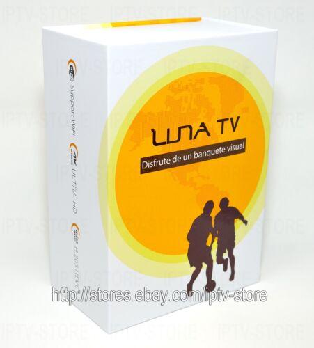 2019 Newest LUNA TV BOX SPANISH Español 4K SAME AS HTV5 A2 LIVE TV