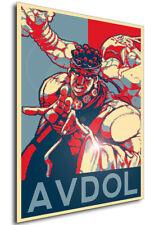 Poster Propaganda Jean Pierre Polnareff JoJo Bizarre Adventure