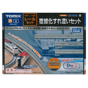 Tomix-91028-Double-Track-Rail-Set-Track-Layout-D-N