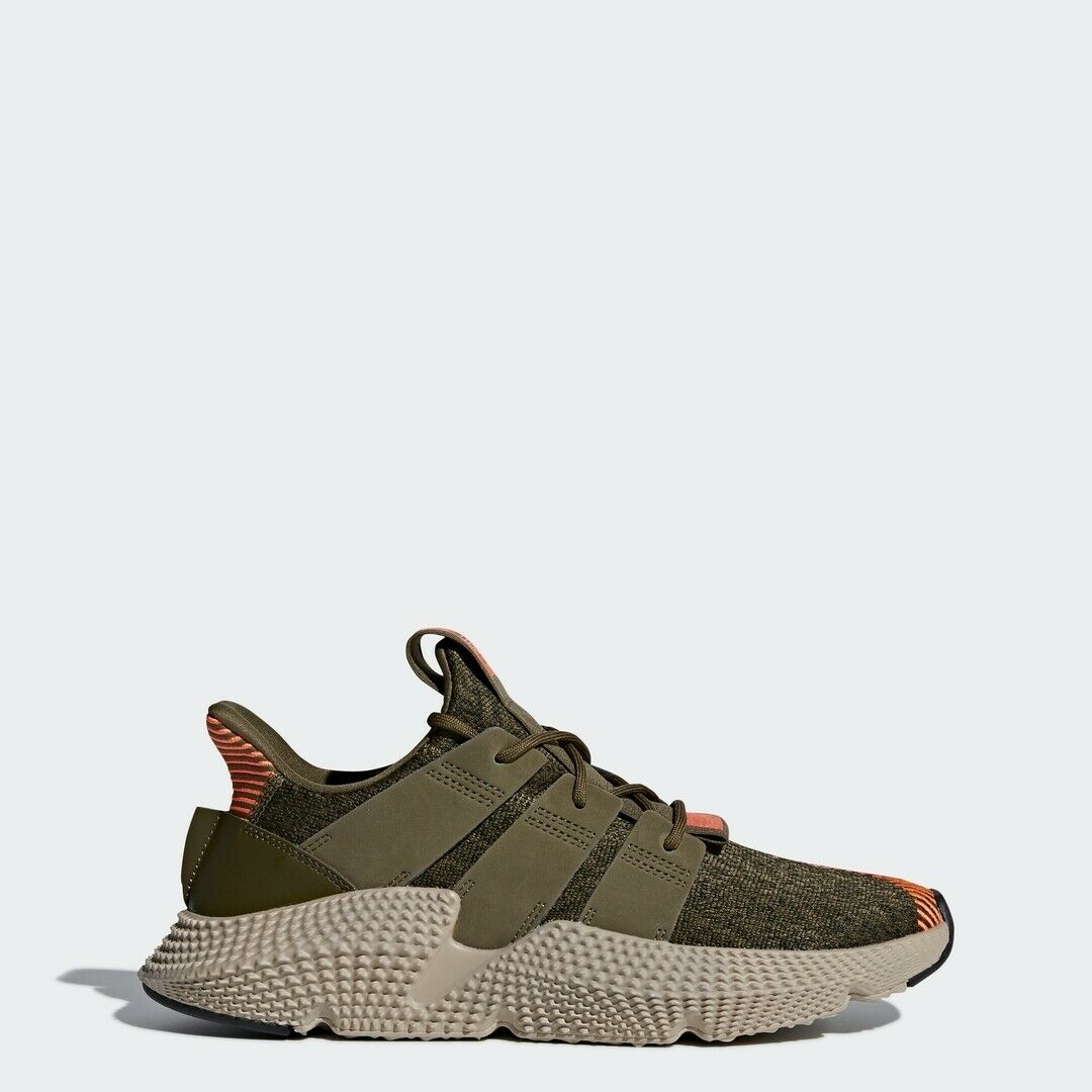 Adidas Originals Prophere Olive Solar Red Men Lifestyle Sneakers Gym New CQ2127