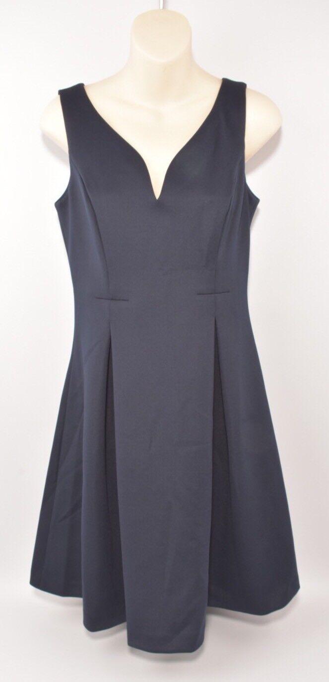 DKNY DKNY DKNY Navy Blau Flare Dress Größe UK 10 d1cbb1
