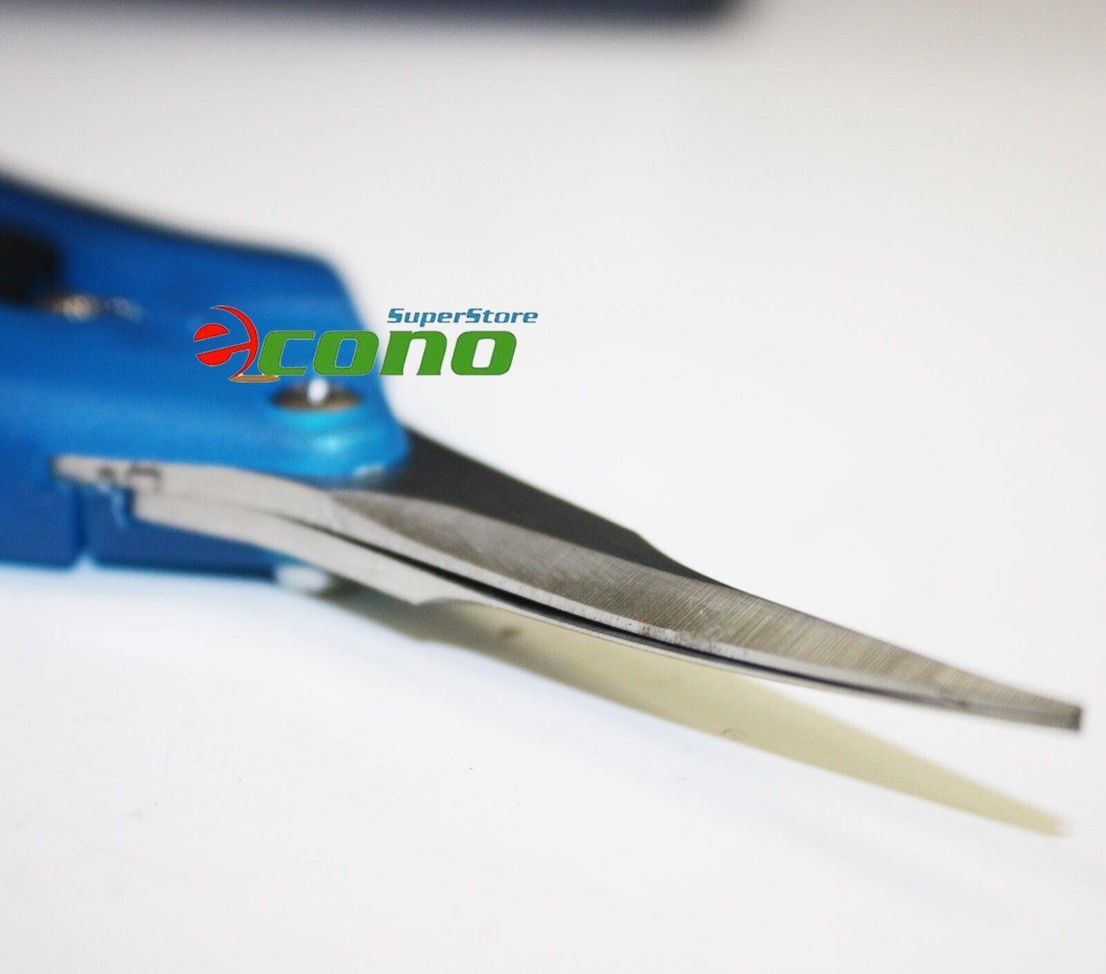 Lot 2 Curved Blade Trimming Scissors Hydroponics Leaf Bud Sharp harvest trimmer
