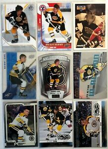 Bobby-Orr-9-Card-Lot-Upper-Deck-SP-Authentic-O-Pee-Chee-IN-Action-Boston-Bruins