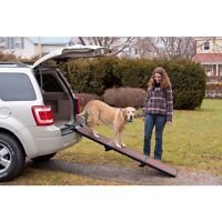 Pet Gear Lightweight Portable Travel Folding Ramp For Dogs Cats Up To 200 Lb
