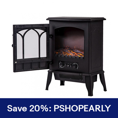 Fireplace ($32)- BEATING Walmart's ChimneyFree ($39.99)