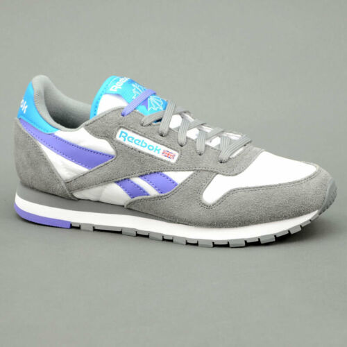 viola ModV60295 Leather Reebok Seasonal Grigio Classic WQrCodBex