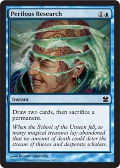 MTG Magic - (C) Modern Masters - Perilous Research - NM
