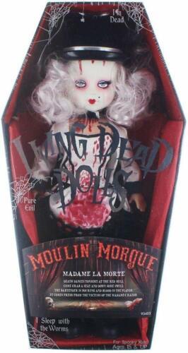 Madame la Mort New in Box Living Dead Dolls Nouveau Toys série 33 Moulin Morgue