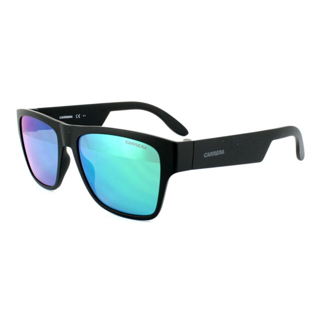 1dbe7f2636 Carrera Sunglasses Carrera 5002 ST DL5 Z9 Matt Black Green Mirror