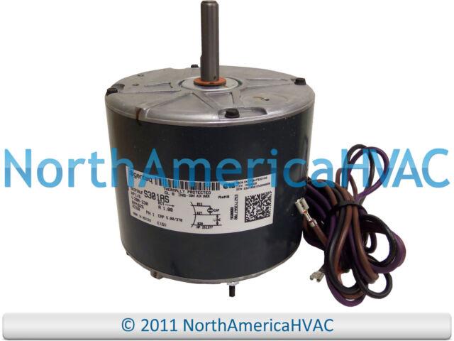 goodman gmss960803bn oem goodman amana 16 208230v hp condenser fan motor 10584308 10584308s