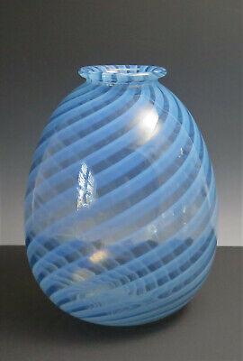 Baby Blue AVON Vase