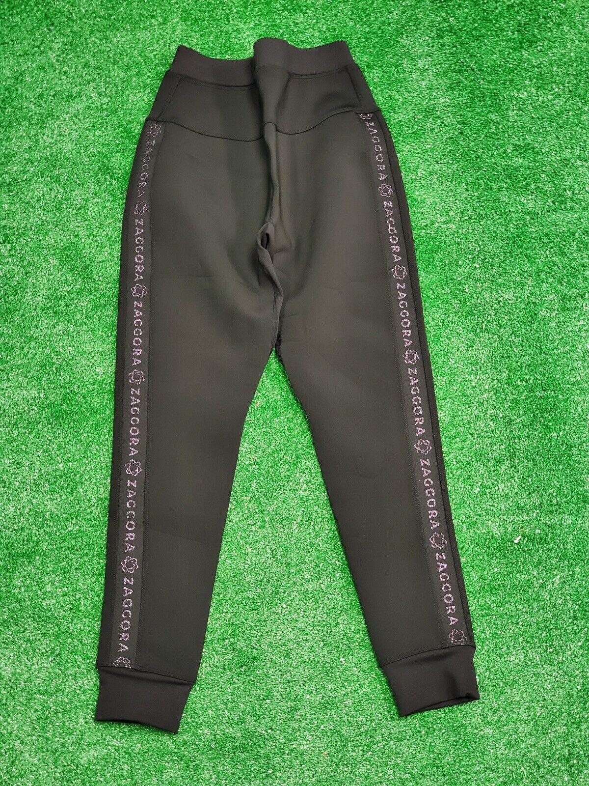 Zaggora High Waisted Neoprene Hot Pants LEGGINGS USA 4 UK 8