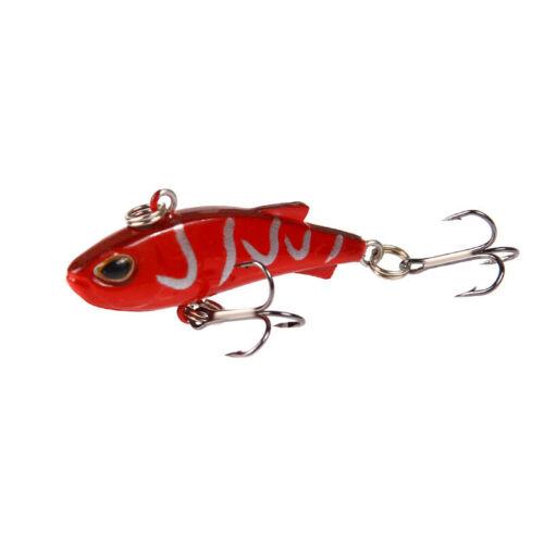 Mini VIB With Spoon Fishing Lure Crankbait Vibration Spinner Sinking Bait g7