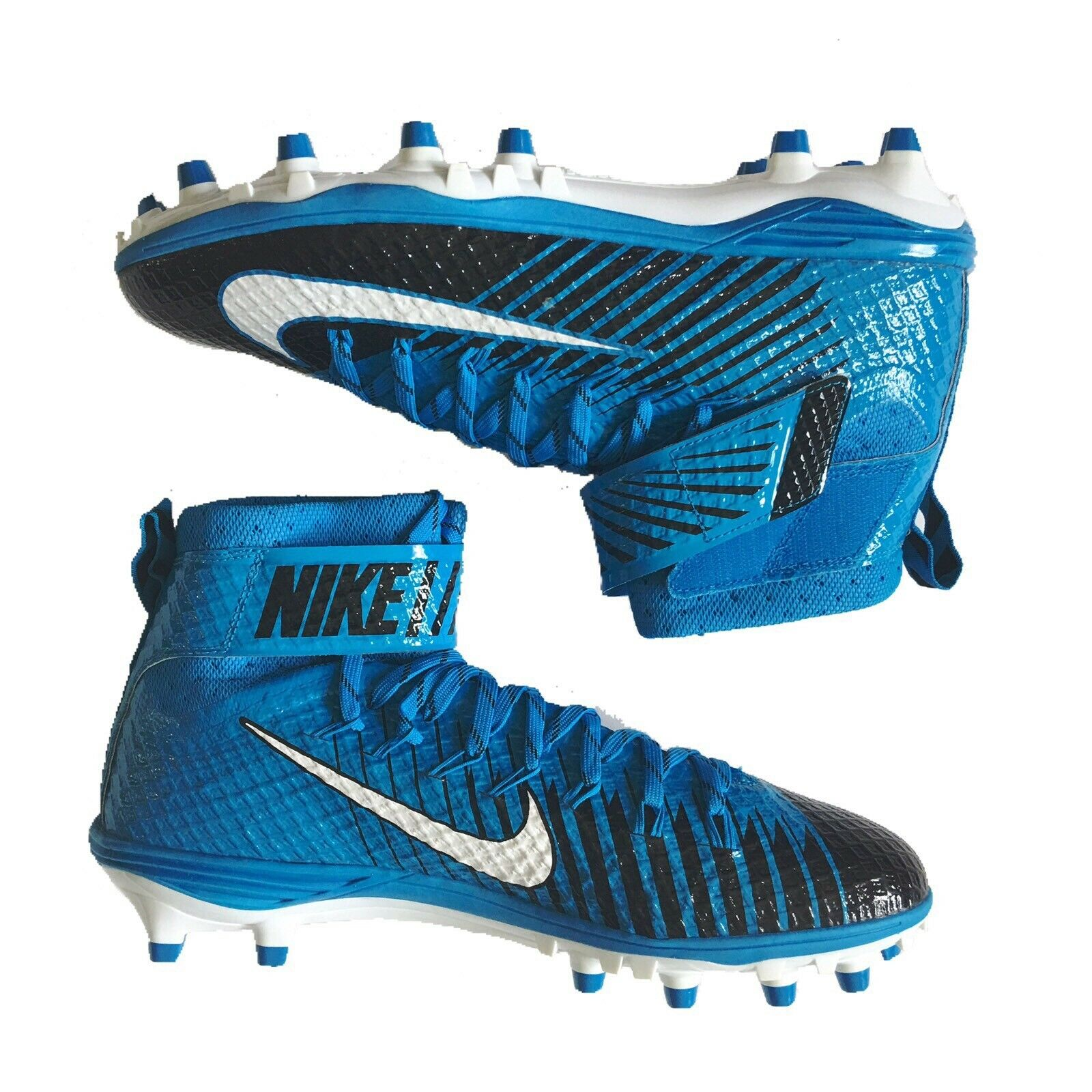 buy popular f9b7a 44ed4 ... netherlands nike lunarbeast elite td de los zapatos de tacos de td  futbol sz 11 azul