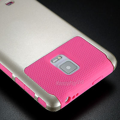 Shockproof Ruged Hybrid Rubber Hard Skin Case Cover For Samsung Galaxy Note Edge