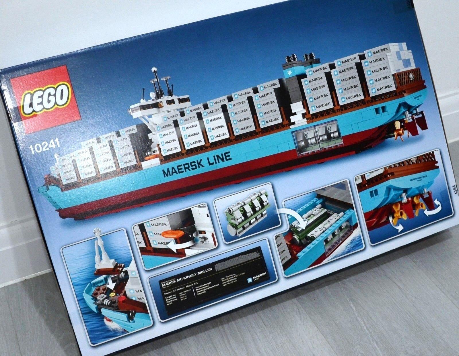 Lego Creator 10241 Maersk Line Triple E Model Container Container Container Vessel Mc Kinney Moller b191e5