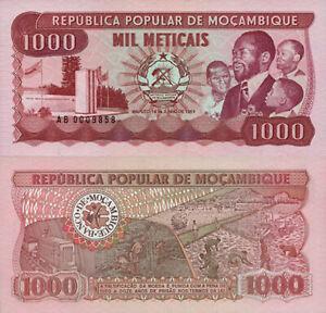 Mozambique 1000 Meticais p132a UNC 1983