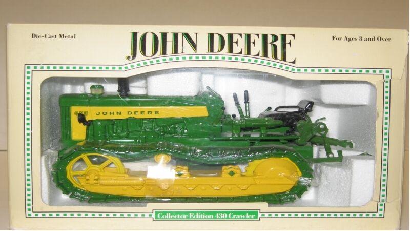1 16 John Deere 430 Crawler Edición Coleccionista Nuevo en Caja Envío Gratuito