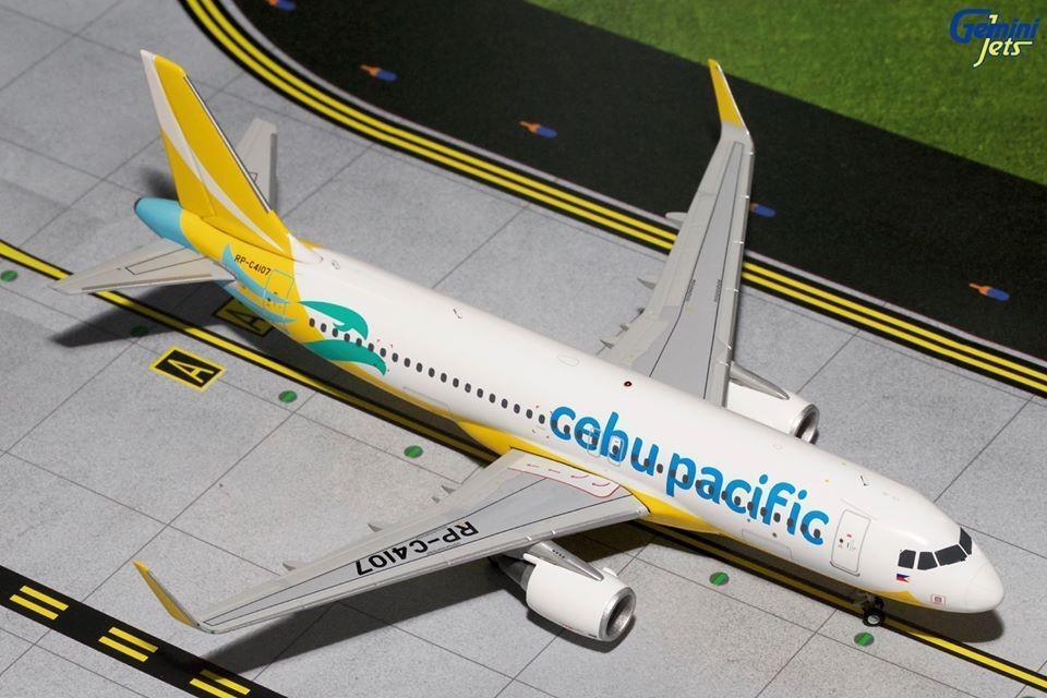 Cebu Pacific Airbus A320 RP-C4107 Gemini Jets CEB2320 Scale 1 200