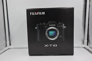 Fujifilm-X-T10-16-3MP-Mirrorless-Digital-Camera-BRAND-NEW-IN-BOX-Black-Body-Only