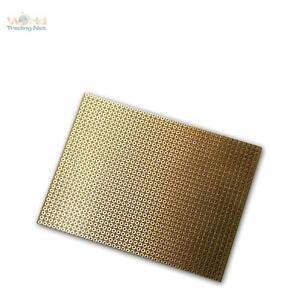 PLATINE 75x100 mm Lochrasterplat<wbr/>ine Kupfer ideal f LED