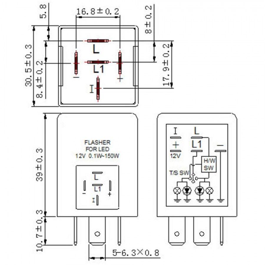 Tridon Flasher Wiring Diagram 5 Pin. . Wiring Diagram on