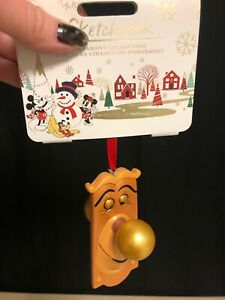 Alice in Wonderland DOORKNOB NWT Disney Store Sketchbook Xmas//Holiday Ornament